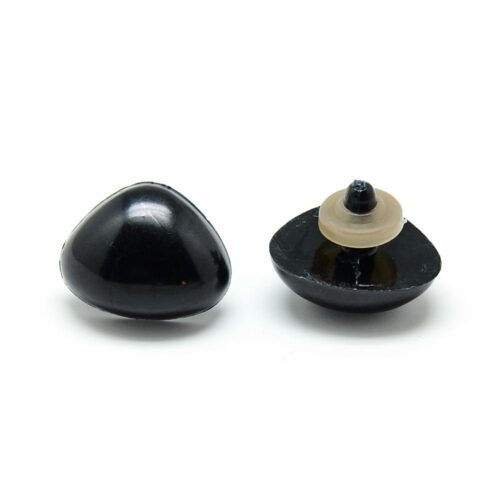 GeroniGombok - Fekete biztonsági orr ( 5 db)