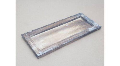 GeroniGombok - Dekor keret - szürkés barna (1 db)