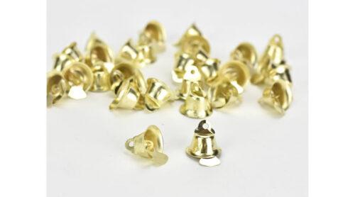 GeroniGombok - Arany kis csengők (10db)