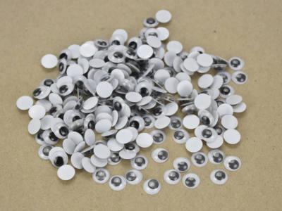 GeroniGombok - Mozgó szemek 10 mm csomagban - 100 db/csomag