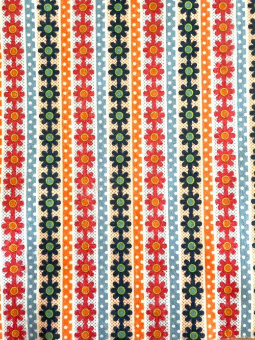 GeroniGombok - Virágos mintás filc lap (A/4)