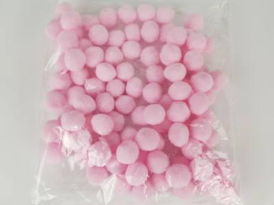 GeroniGombok - Zsenilia pom-pom golyó csomagban (10db) - rózsaszín
